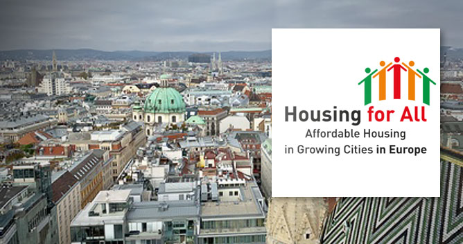 Housing for All Konferenz in Wien; Foto-Hintergrund: fotolia;